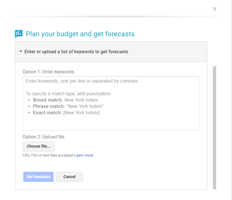Adwords kw tool